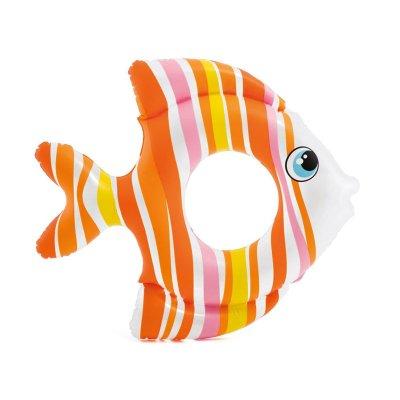 Flotador rueda hinchable pez