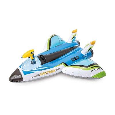 Wholesaler of Hinchable Avión Ride-on acuático - azul