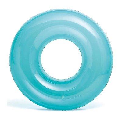 Wholesaler of Flotador rueda transparente hinchable piscina - verde
