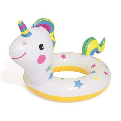 Flotador rueda hinchable unicornio