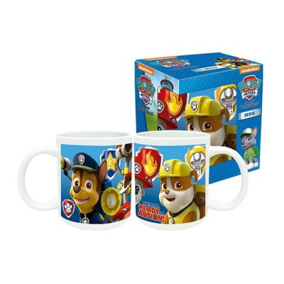 Wholesaler of Taza cerámica 320ml 11oz Paw Patrol Ready for Action