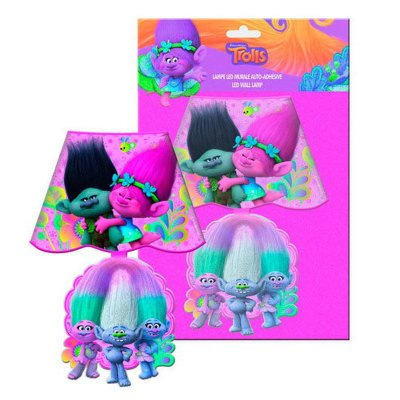 Lámpara LED adhesivo pared Trolls - modelo 2