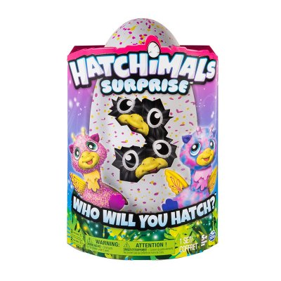 Hatchimals Surprise Gemelos - huevo rosa Giraven