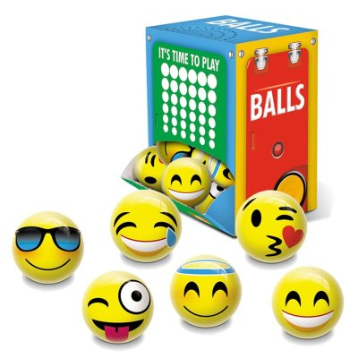 Mini pelotas 6cm Emoticonos
