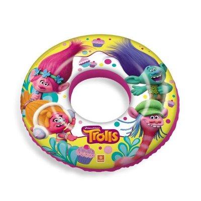 Flotador rueda hinchable piscina Trolls Cupcake