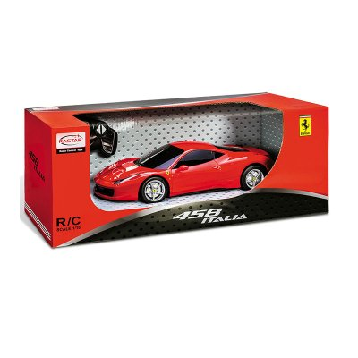 Coche Radio Control Ferrari 458 Italia 1:14 Rastar