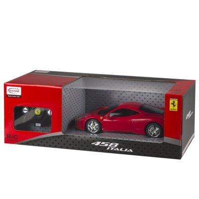 Coche Radio Control Ferrari 458 Italia Rojo 1:32 Rastar