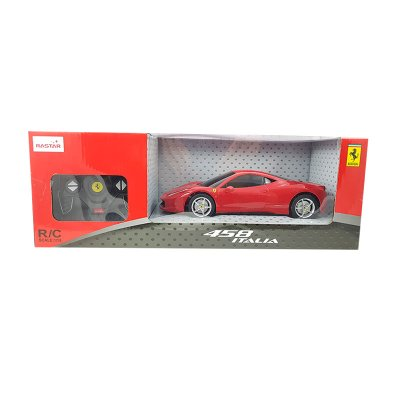 Coche Radio Control Ferrari 458 Italia 1:18 Rastar