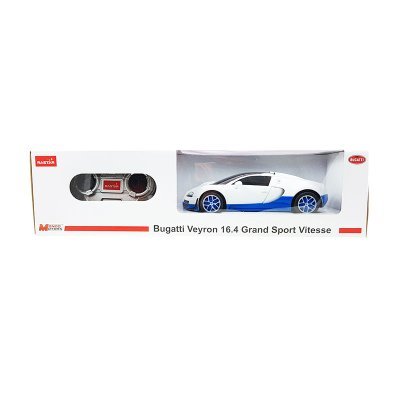 Coche Radio Control Bugatti Veyron 16.4 GSV Blanco 1:24 Rastar