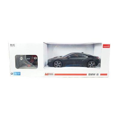 Coche Radio Control BMW i8 Negro 1:18 Rastar