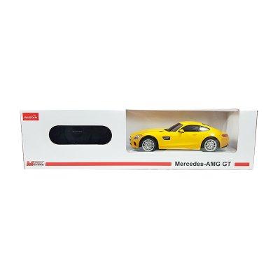 Coche Radio Control Mercedes Benz Amarillo 1:24 Rastar