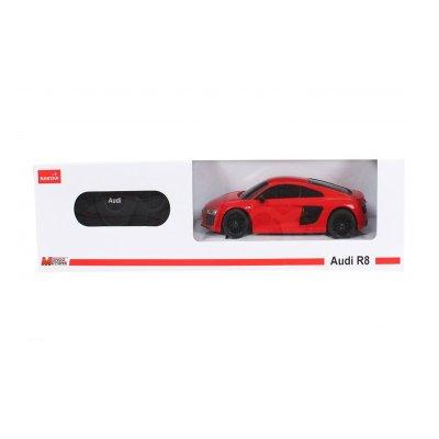 Coche Radio Control Audi R8 Rojo 1:24 Rastar