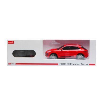 Coche Radio Control Porsche Macan Turbo Rojo 1:24 Rastar