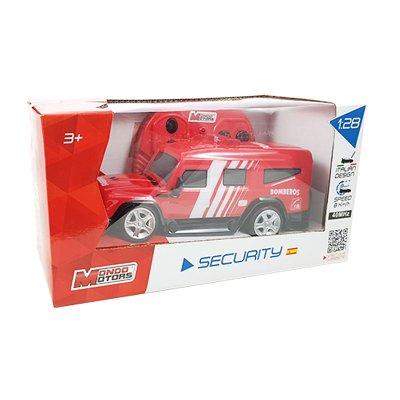 Coche Radio Control Security Bomberos 1:28 Mondo Motors