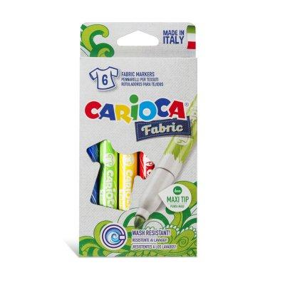 Wholesaler of Set de 6 rotuladores Carioca Fabric