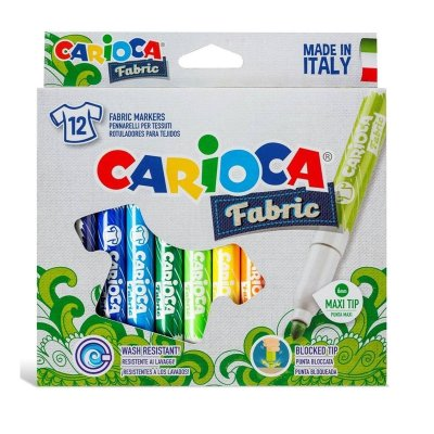 Wholesaler of Set de 12 rotuladores Carioca Fabric