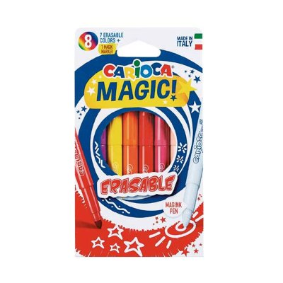 Pack 8 rotuladores Carioca Magic