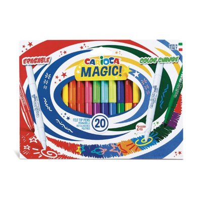 Pack 20 Rotuladores Carioca Erasable Magic