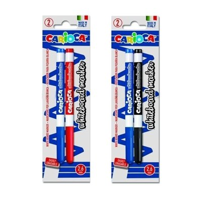 Pack 2 Rotuladores Carioca Whiteboard Markers