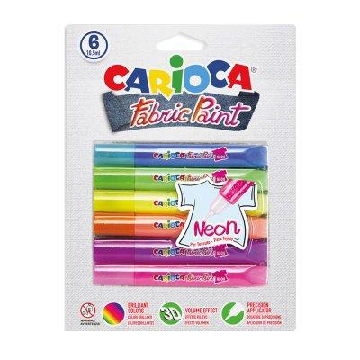 Wholesaler of Fabric Paint Carioca Neon