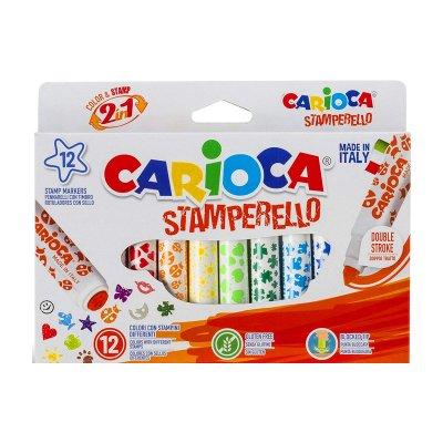 Wholesaler of Rotuladores Carioca 2 en 1 Stamperello
