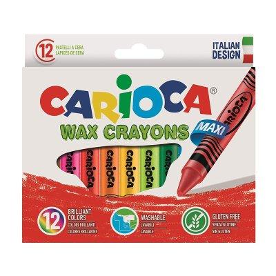 Wholesaler of Set de 12 lápices cera Carioca Wax Crayons