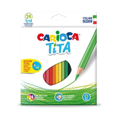 Wholesaler of Set 24 lápices de colores Carioca Tita
