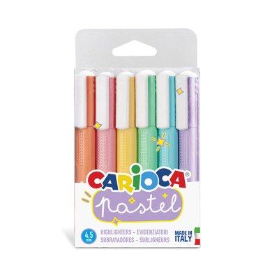 Marcadores de colores Carioca Pastel