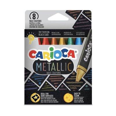 Wholesaler of Set 8 ceras Carioca Metallic