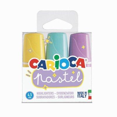 Wholesaler of Set de 3 marcadores de colores pastel Carioca Pastel