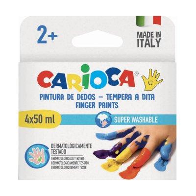 Wholesaler of Set 4 pinturas de dedos Carioca