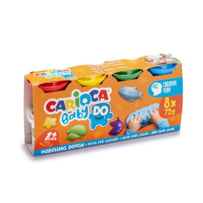 Set 8 pastas de moldear Carioca Baby