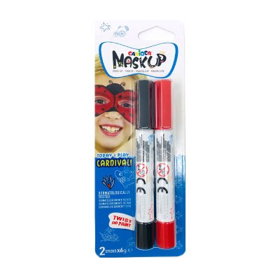 Set de 2 rotuladores maquillaje Maskup Carioca Carnival