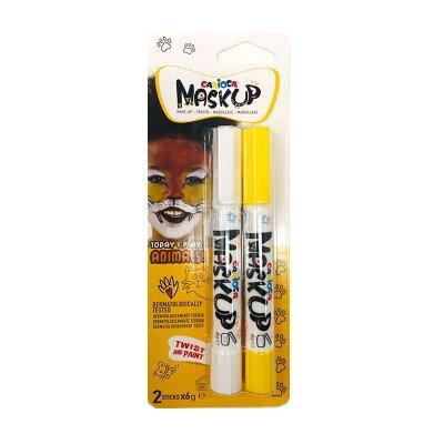 Set de 2 rotuladores maquillaje Maskup Carioca Animals