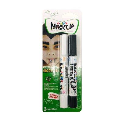 Set de 2 rotuladores maquillaje Maskup Carioca Monster