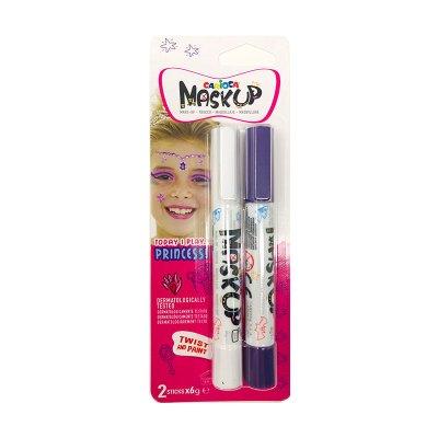 Set de 2 rotuladores maquillaje Maskup Carioca Princess