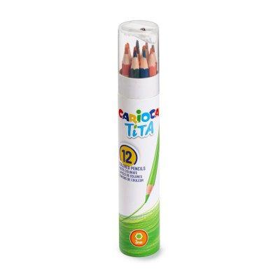 Set 12 lápices de colores Carioca Tita