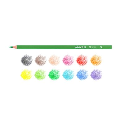 Wholesaler of Set 12 lápices de colores Carioca Tita