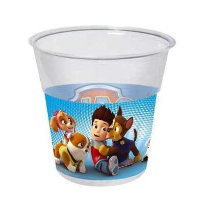 Wholesaler of 8 vasos desechables 250ml Paw Patrol Boys