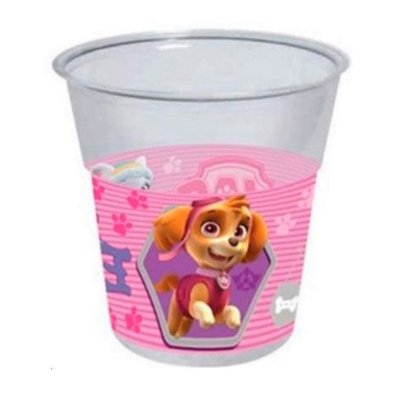 Wholesaler of 8 vasos desechables 250ml Paw Patrol Girls