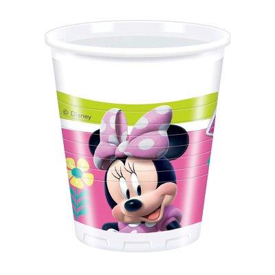 Wholesaler of 8 vasos de plástico desechables 200ml Minnie Disney
