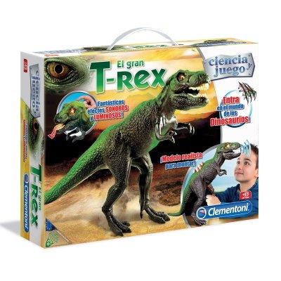 El Gran T-Rex con luces y sonidos