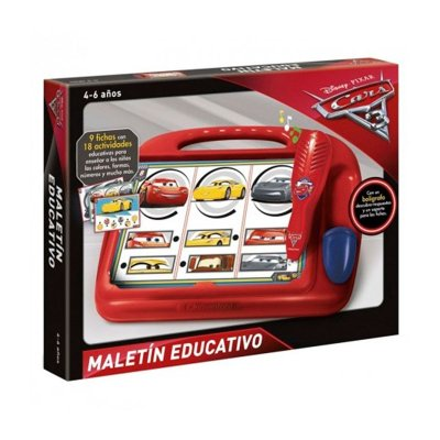 Maletín educativo Cars Disney