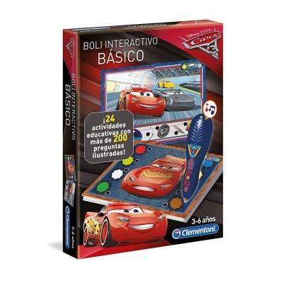 Bolígrafo interactivo básico Cars Disney 24 actividades