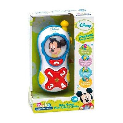 Baby teléfono con sonido Mickey