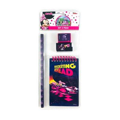 Wholesaler of Set de papelería 4 piezas Minnie Mouse