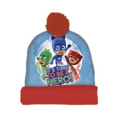 Gorro de invierno PJ Masks Hero con bolsa regalo