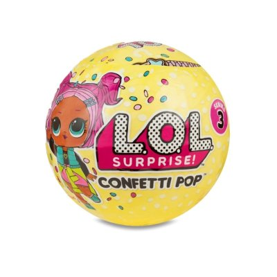 Bolas LOL Surprise Confetti POP serie 3 c/accesorios