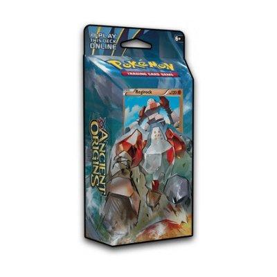 Baraja temática Pokémon XY Antiguos Orígenes - Corazón de Piedra