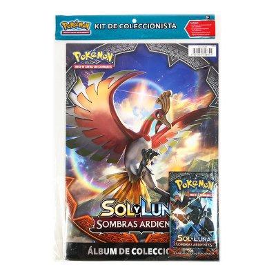 Kit de Coleccionista Pokémon Sol y Luna Sombras Ardientes